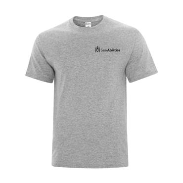 SaskAbilities Everyday Cotton Blend T Shirt